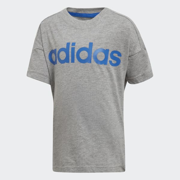 Little Kids Linear T-shirt grijs DJ1532