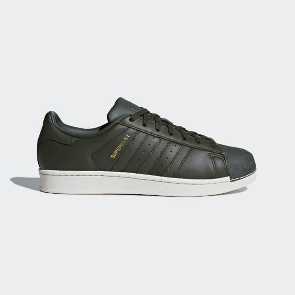 Superstar Schoenen groen CM8074