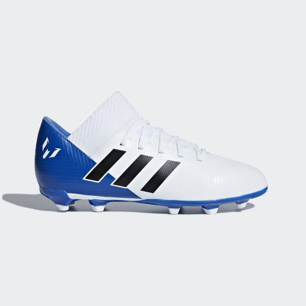 Nemeziz Messi 18.3 Firm Ground Boots White DB2364