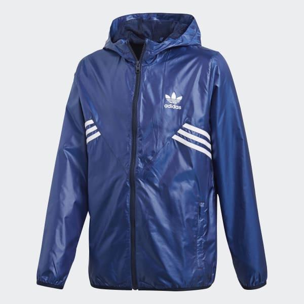 Giacca a vento Fleece Blu CE1090