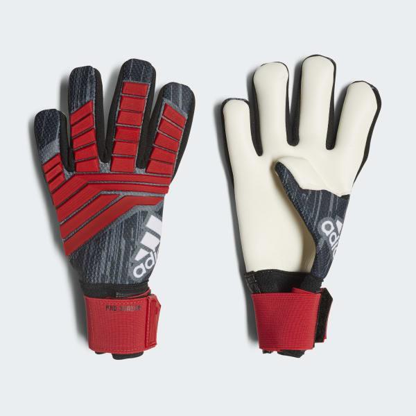 Predator Pro Junior Gloves Black CW5596