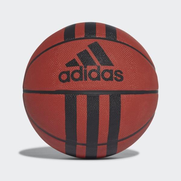 Balón de baloncesto 3 bandas Naranja 218977