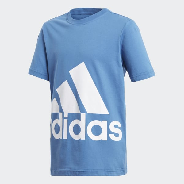 Essentials Big Logo Tee Blue CF6520