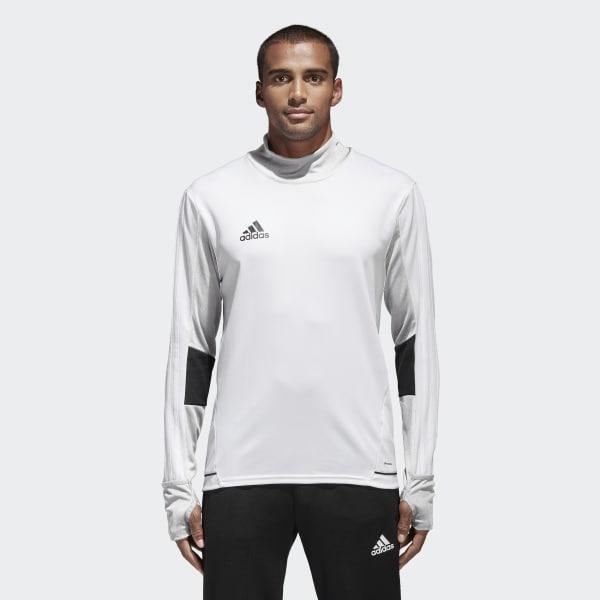 Tiro 17 Trainingsshirt weiß BQ2737