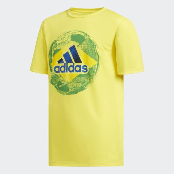 Soccer Tee Yellow CK1218