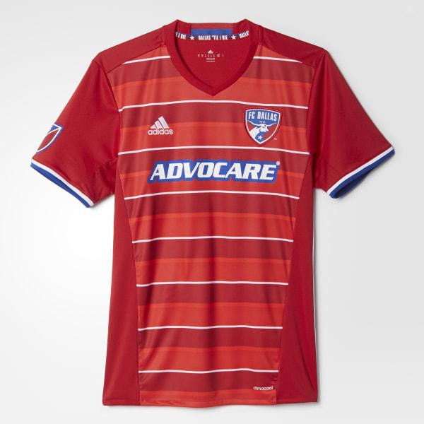 FC Dallas Home Replica Jersey Red AB9330