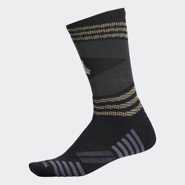 Tango 2 Crew Socks 1 Pair Black CJ1521
