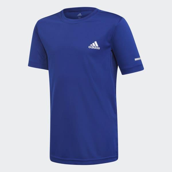 Running T-Shirt blau DJ1178