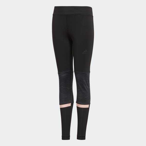 Training 1/1 Legging zwart DJ1069