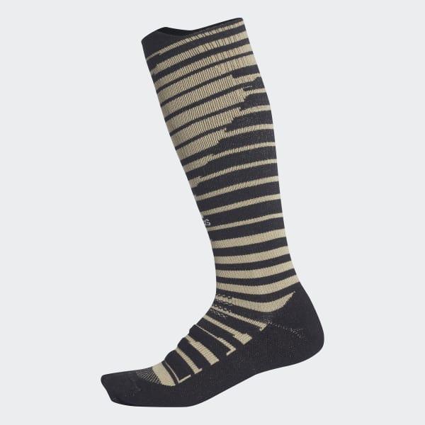 Alphaskin Graphic Light Cushioned Socks Beige CF3337