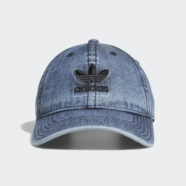 Relaxed Strap-back Hat Blue CI7679