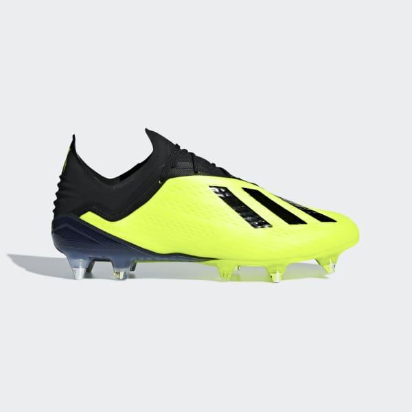 Calzado de Fútbol X 18.1 Terreno Suave Amarillo DB2259