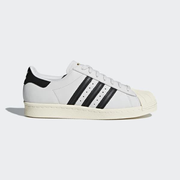 Chaussure Superstar 80s blanc CQ2512