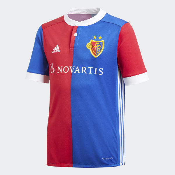 FC Basel Home Jersey Blue BK0864