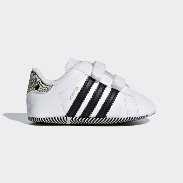 SST Crib Shoes White AQ1719