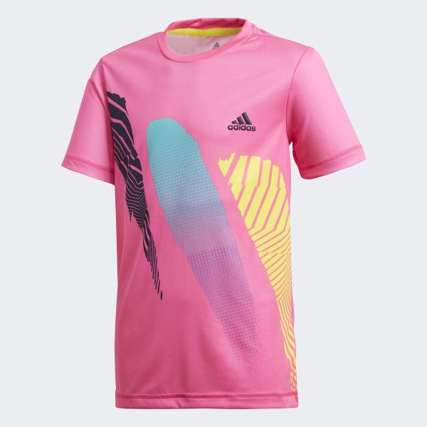 Camiseta Seasonal Rosa DH2788