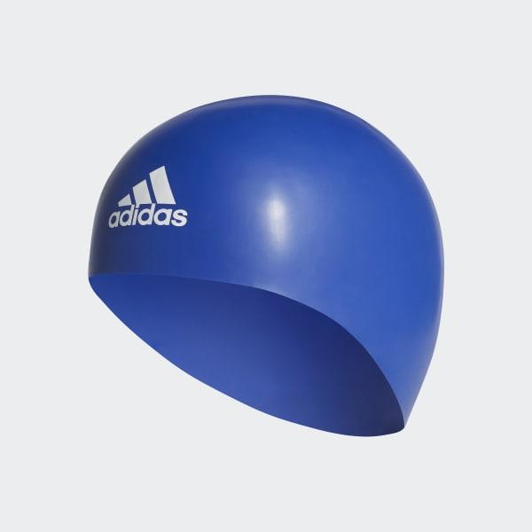 Bonnet de bain adidas premoulded bleu CV7598