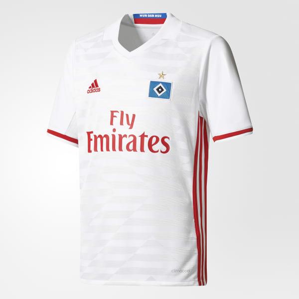 Hamburger SV Home Jersey White AH5286
