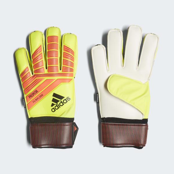 Predator Fingersave Replique Gloves Yellow CW5595