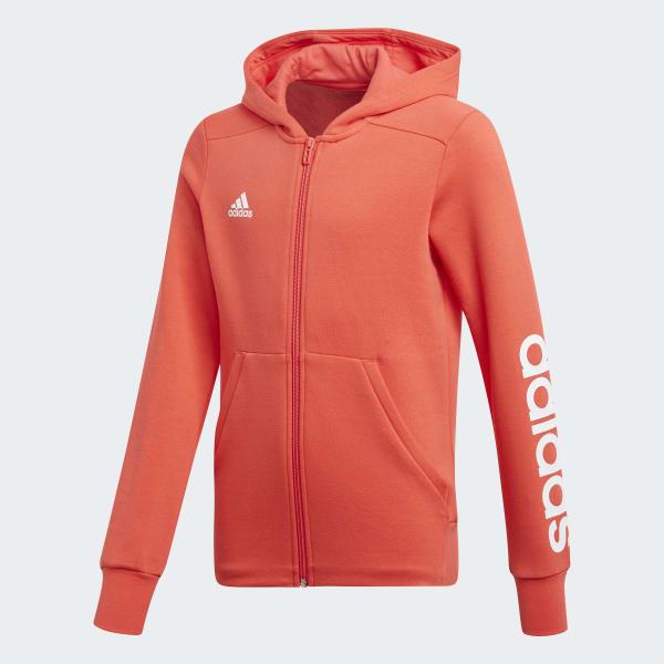 Veste à capuche Essentials 3-Stripes Mid orange CF7239
