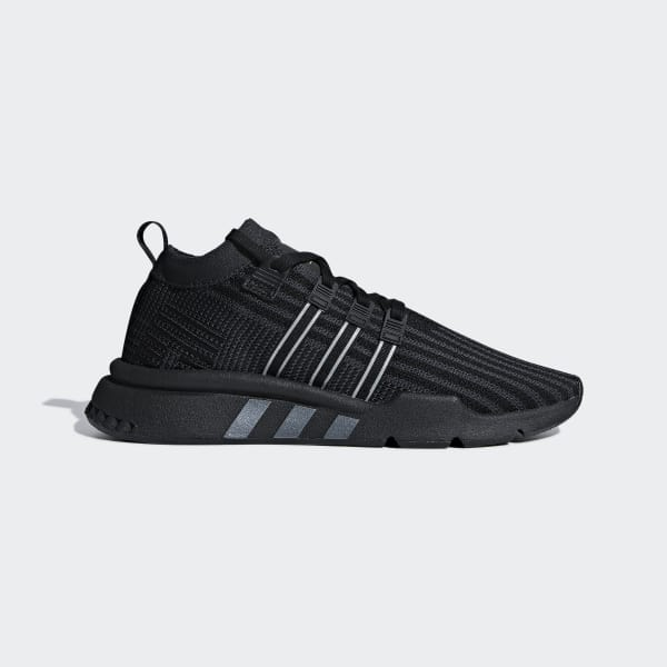 EQT Support Mid ADV Primeknit Shoes Black B37456