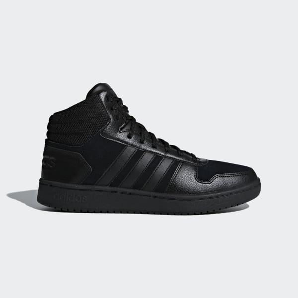 Hoops 2.0 Mid Shoes Black B44649