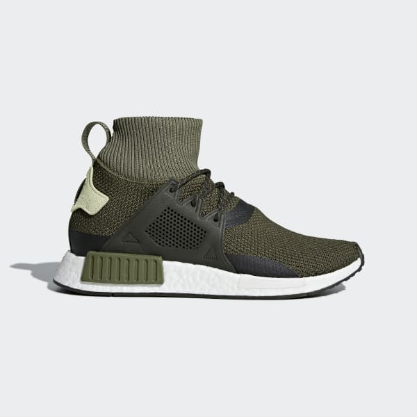 NMD_XR1 Winter Shoes Green CQ3074