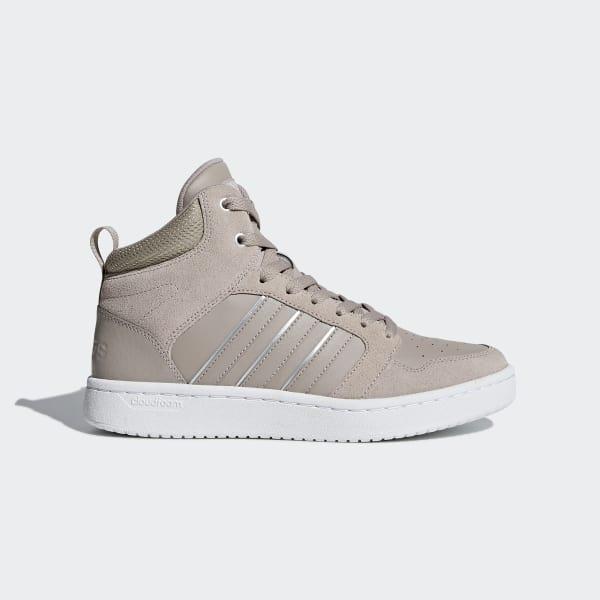 Cloudfoam Super Hoops Mid Shoes Grå DB0308