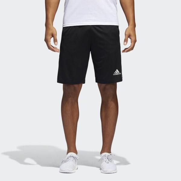 D2M 3-Stripes Shorts Black BP9111