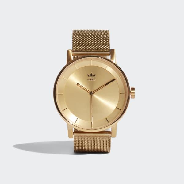 DISTRICT_M1 Horloge goud CJ6323