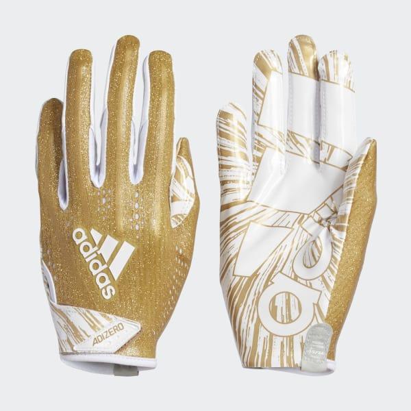 Adizero 5-Star 7.0 Speed of Light Gloves Gold CJ9085