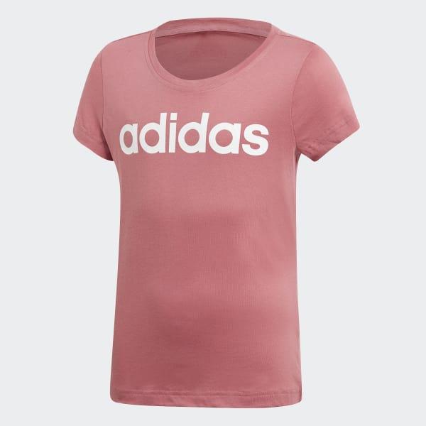 Essentials Linear T-shirt rood DJ1333