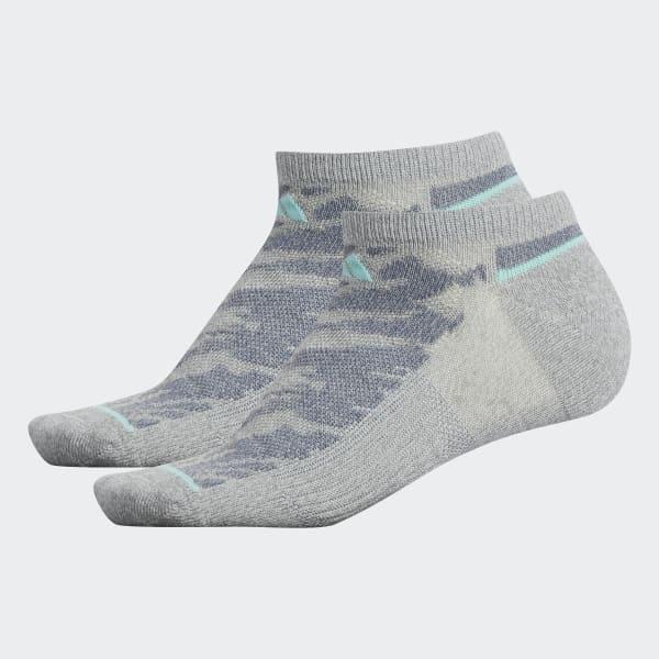 Superlite Prime Mesh 2 No-Show Socks 2 Pairs Grey CJ0613