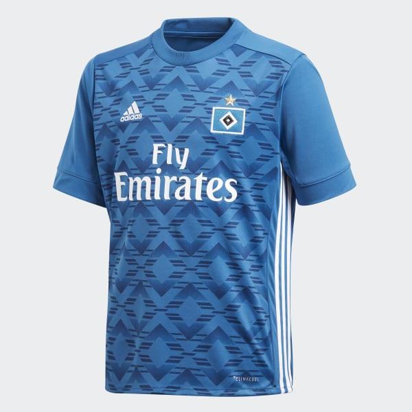 HSV Uitshirt blauw BQ6116
