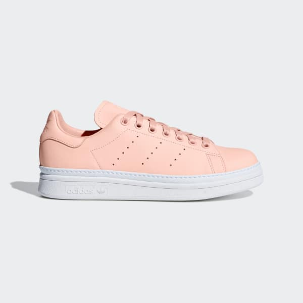 Chaussure Stan Smith New Bold orange B37361