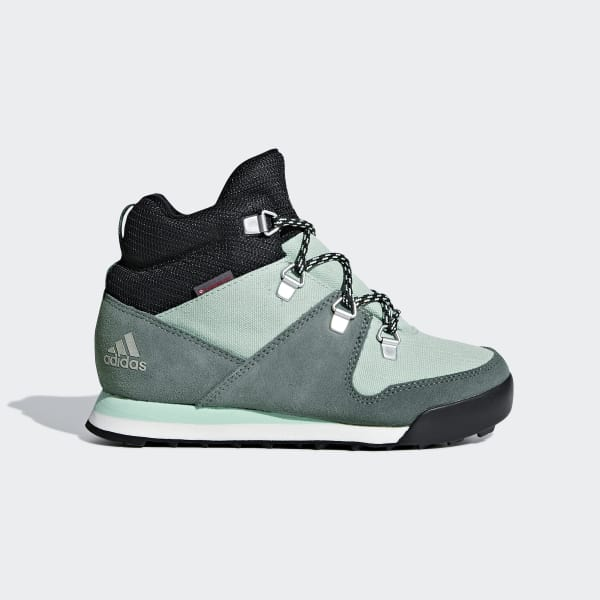 Climawarm Snowpitch Shoes Green AC7962