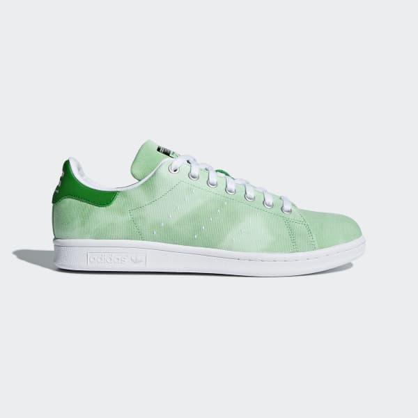 Pharrell Williams Hu Holi Stan Smith Shoes Green AC7043