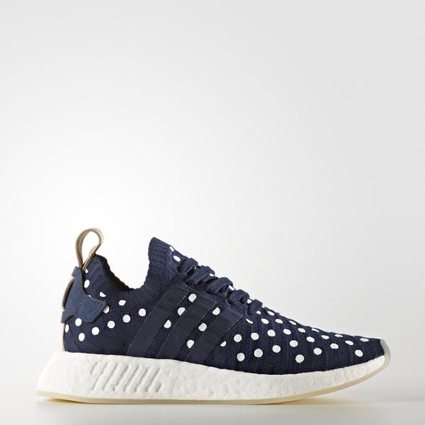 Chaussure NMD_R2 Primeknit bleu BA7560