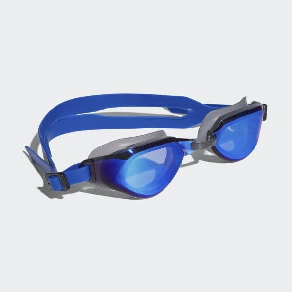 persistar fit mirrored swim goggle Blue BR1091