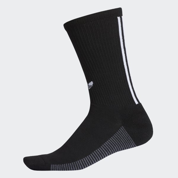 3-Stripes Statement Crew Socks Black CJ3871