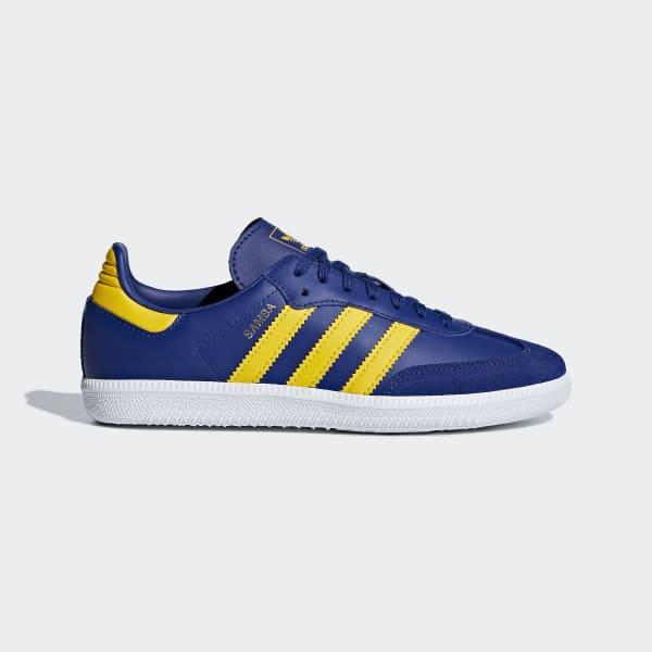 Samba OG Schoenen blauw AQ1827