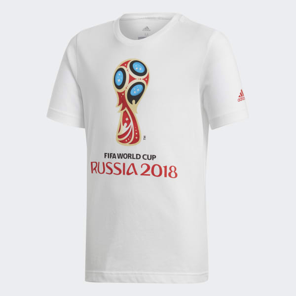 FIFA World Cup Emblem Tee White CW2106