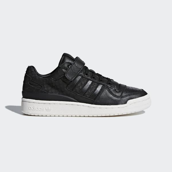 Forum Low Schoenen zwart CQ2682