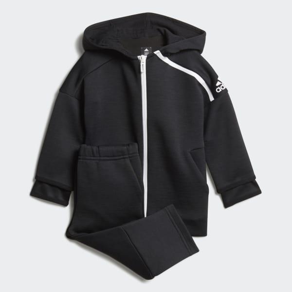 adidas Z.N.E. Mini-Me Track Suit Grey DJ1568