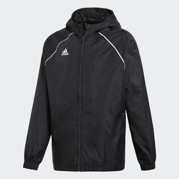 Core 18 Rain Jacket Black CE9047