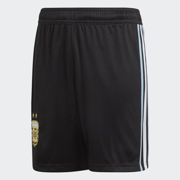 Argentina Home Shorts Black BQ9310