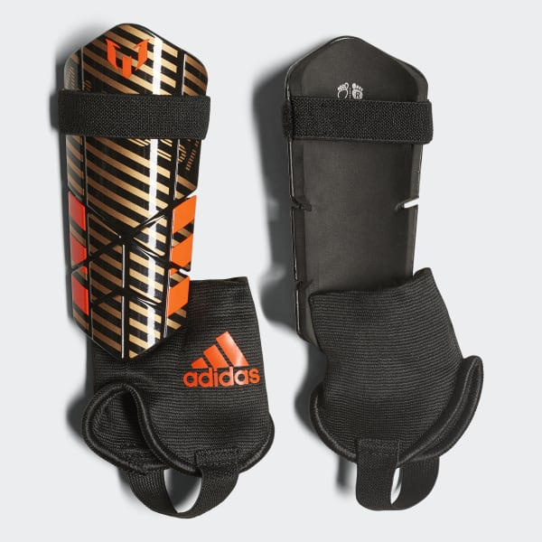 Messi 10 Shin Guards Gold CF0140
