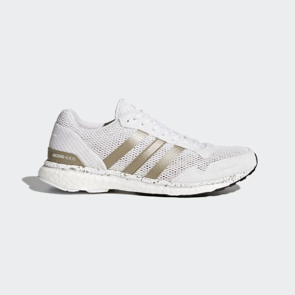 Chaussure adizero Adios 3 blanc BB6409
