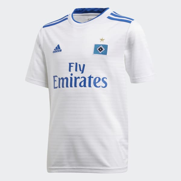 Hamburger SV Home Jersey White CF5437