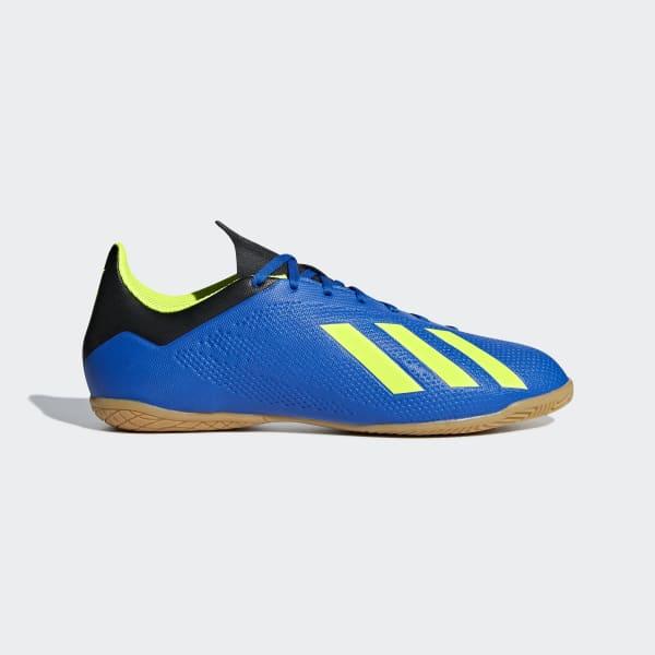 Calzado de Fútbol X Tango 18.4 Bajo Techo Azul DB2482